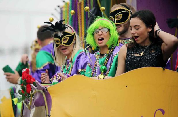 Photos From The Krewe Of Hephaestus Parade St Mary Now