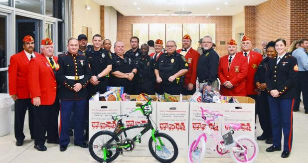 Police Toys For Tots 2017 : Police collect toys for tots st mary now
