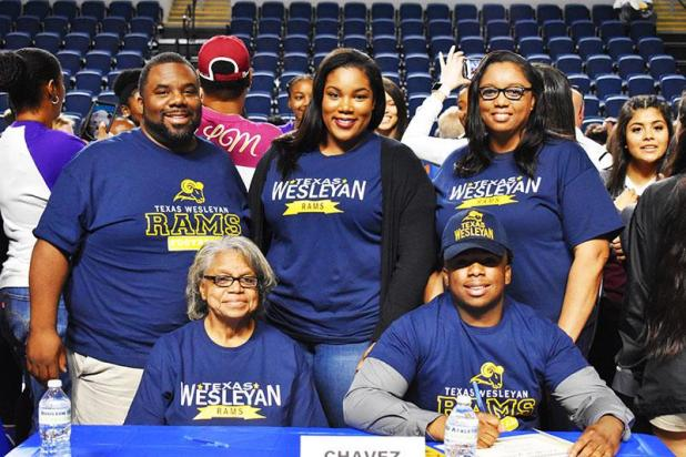 Wilson signs with Texas Wesleyan University | St  Mary Now