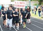 Hattie Watts opening ceremonies